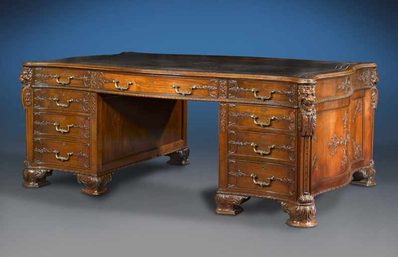 Antique desks antique furniture for Antique furniture desk