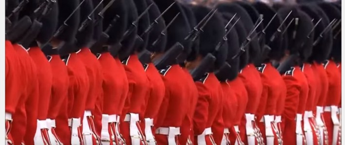 Missing Bayonet At Trooping The Colour?